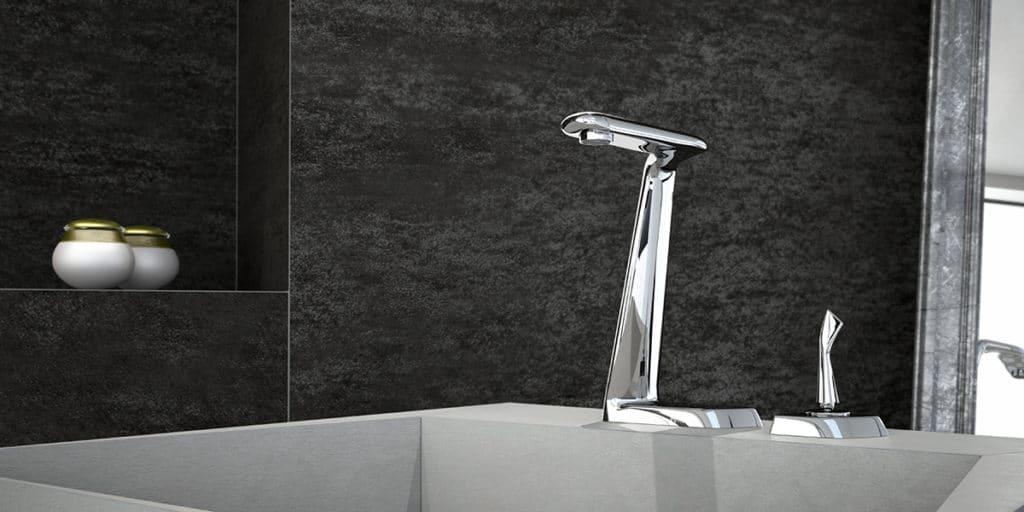 Diseño de producto de un grifo de Piura Collection diseñado por Manuel Torres Design